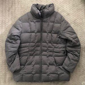 Calvin Klein Down Jacket Large Gray